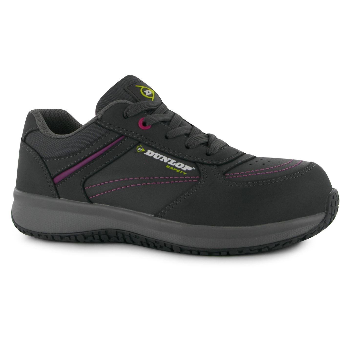 Dunlop Damen Kirsten Kirsten Damen Sicherheitsschuhe Arbeitsschuhe Schutzschuhe Schuhe Halbschuhe Grau/Pink 6 (39) - 580816
