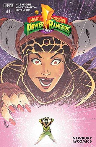 Mighty Morphin Power Rangers #1 Newbury Comics Mike