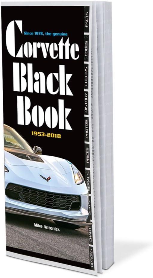 Black Book Car >> 1953 2018 Corvette Black Book