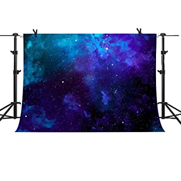 Amazon mme 10x7ft purple blue stars galaxy backdrop starry mme 10x7ft purple blue stars galaxy backdrop starry universe background video studio photography vinyl props geme169 thecheapjerseys Gallery