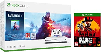 Xbox One S 1TB Battlefield V console + Red Dead Redemption
