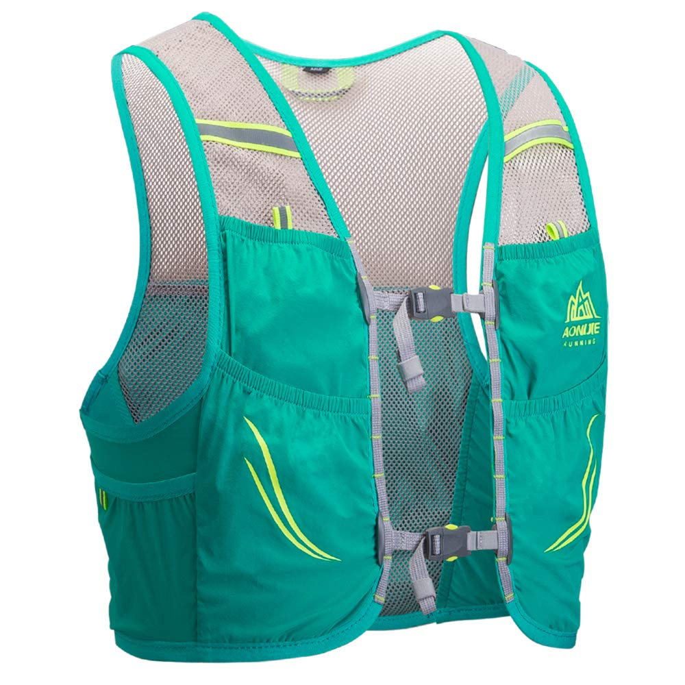 lixada Hydration Pack 2L or 3L Water Bladder Marathon Running Vest, Hiking Cycling Backpack FDA Approved, Leak-Proof Mesh Breathable Hydration Reservoir