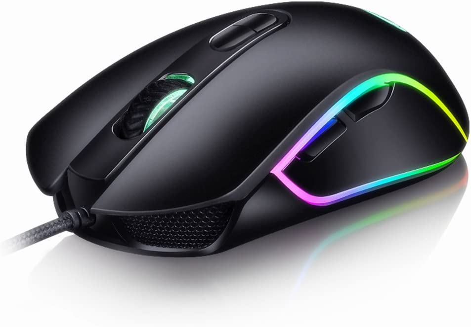 Gaming Maus Gamer Maus Mit 4800 Dpi 6 Tasten Und Computer Zubehör