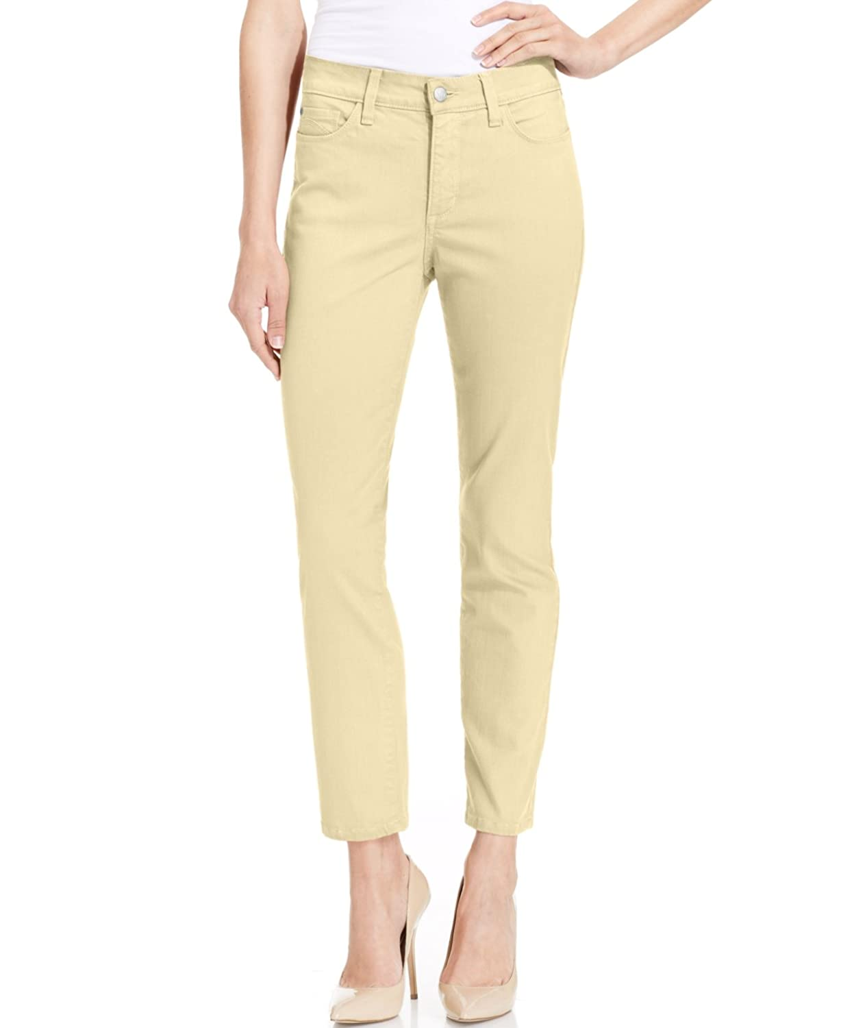 NYDJ Petite Clarissa Colored Wash Ankle Jeans