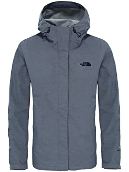 The North Face W Venture 2 Chaqueta, Mujer, Gris (Tnfmediumgryhtr), XL: Amazon.es: Deportes y aire libre