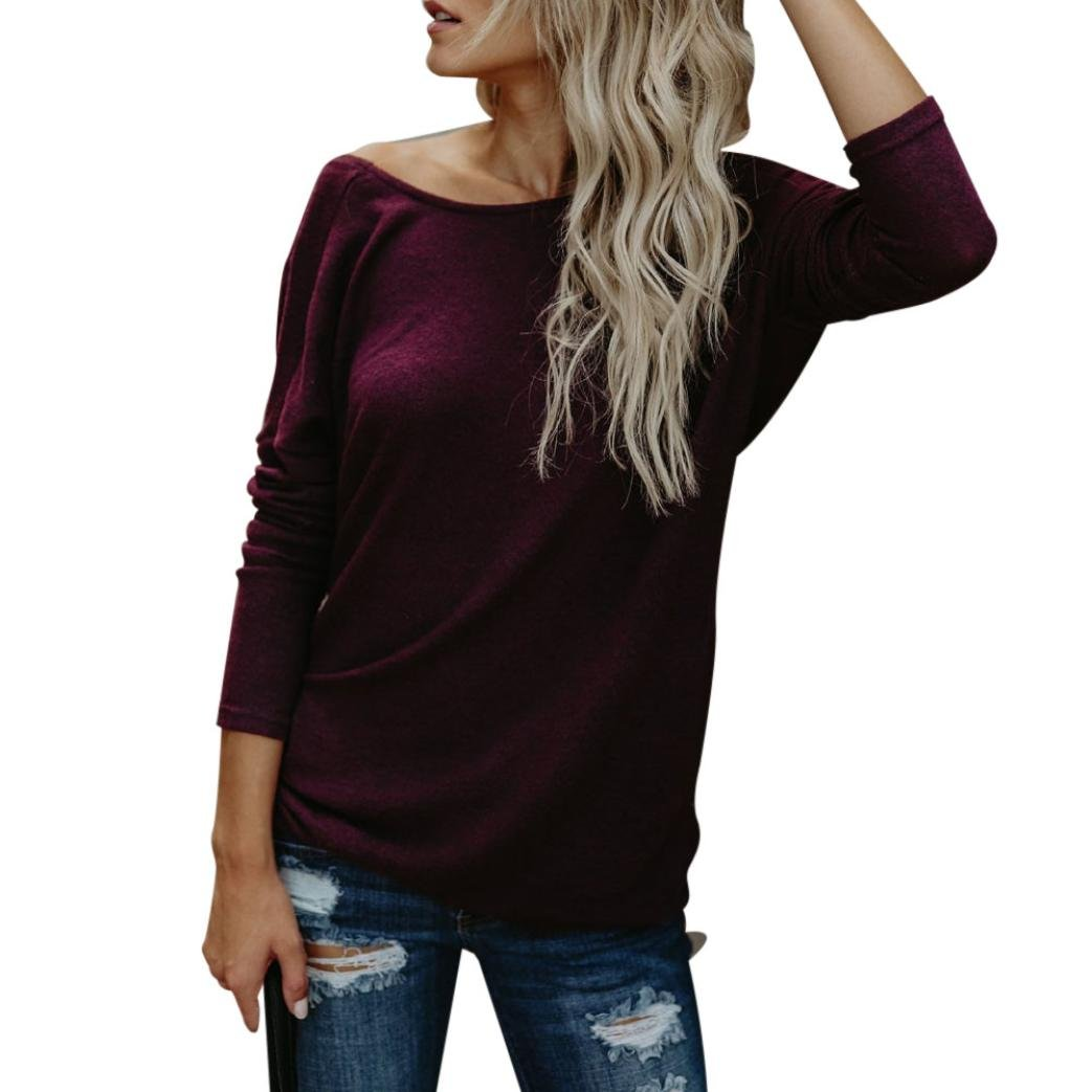 Spbamboo Sexy Fashion Womens Crop Solid V-Neck Backless T-Shirt Blouse Solid Top