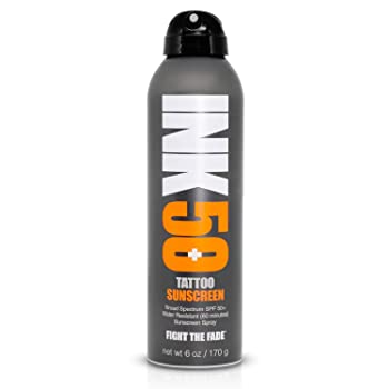 NK Tattoo Sunscreen Spray SPF 50