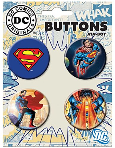 Ata-Boy DC Comics Originals Superman Set of 4 1.25