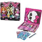 150pc Kids Art Supplies Set Gift Tin Case Stationary Art and Craft Kit Organizer Drawing Monster High