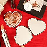 Vibrant Swirl Arte Murano Heart Shaped Glass Hand Mirror – Set of 12 Review