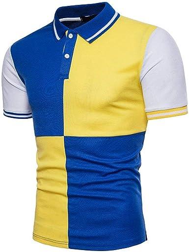 Camisa De Polo para Hombre De Verano Moda Mode De Marca Mixta ...