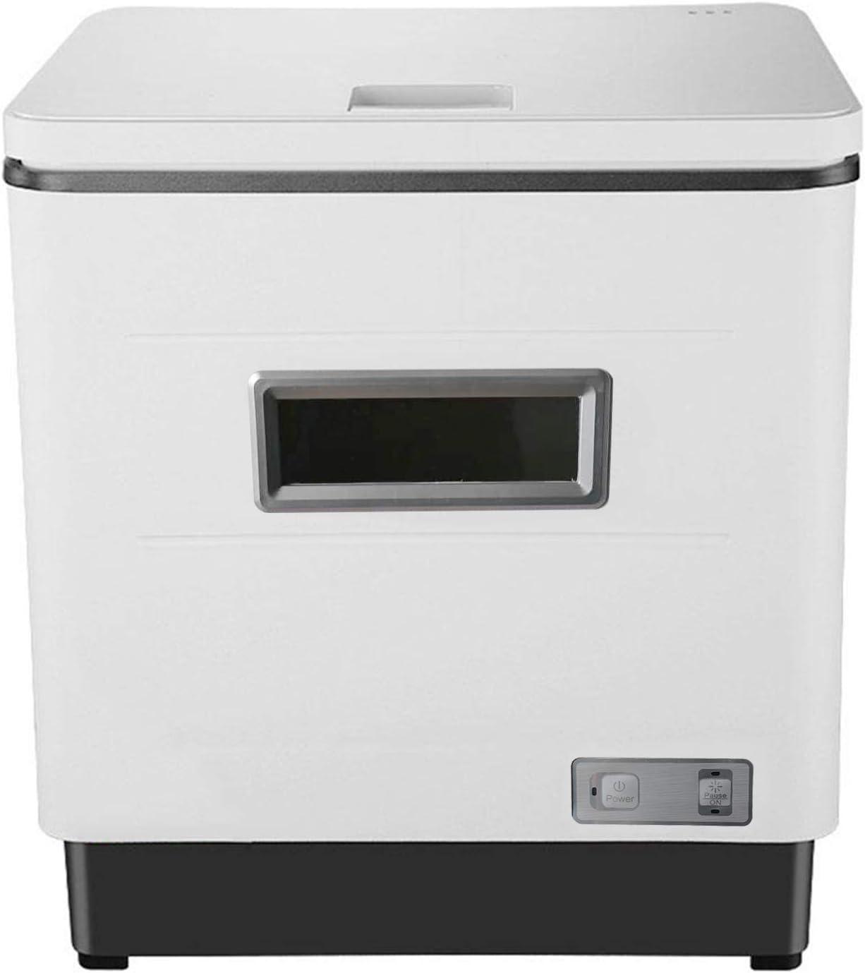 Haofy Lavavajillas de encimera portátil Compacto Profesional, función de Secado, Mini lavaplatos para Apartamentos pequeños, dormitorios y Casas rodantes