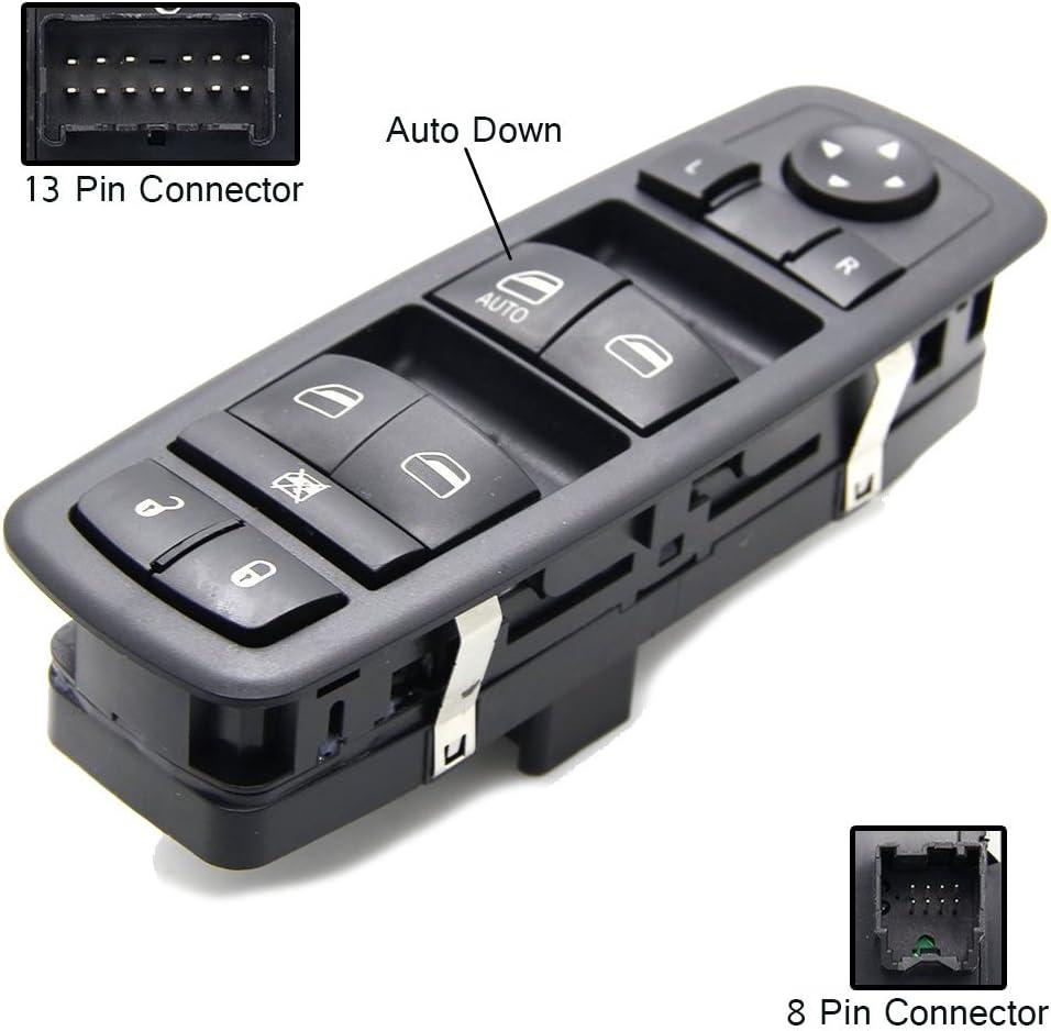 Jeep Liberty Driver Side Master Power Window Switch for Jeep Journey Dodge Nitro 08-12