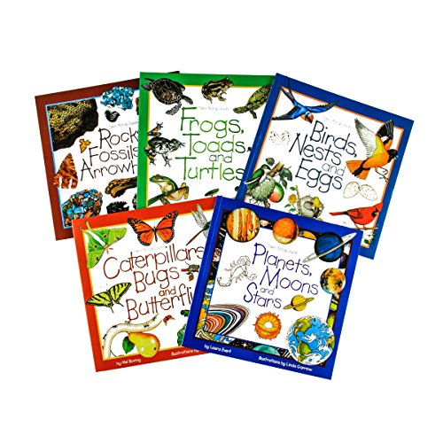 Take-Along Guides 5 Book Set - Childrens Field Guides (Guide Beautiful)