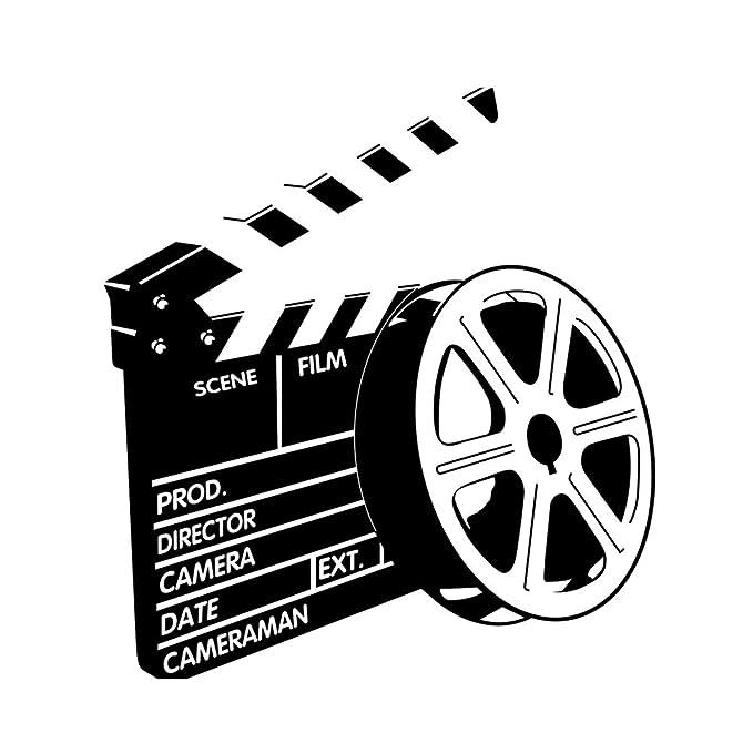 VORCOOL Pegatinas de Pared Cartel de la película de Cine ...