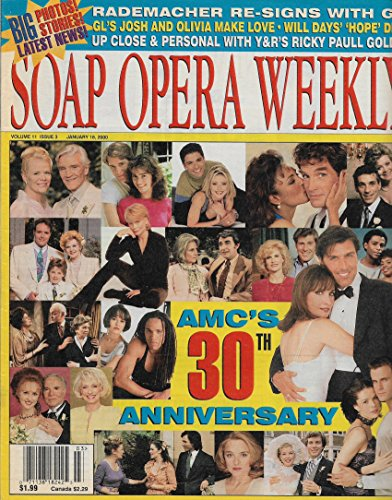Soap Opera Weekly Magazine - January 18, 2000 - All My Children's 30th Anniversary Issue l Susan Lucci l Ricky Paull Goldin l Dana Sparks