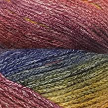 Ella Rae Seasons Yarn Variegated Color Shifts Color 9 Blue, Orange, Yellow, Purple, Red, Pink