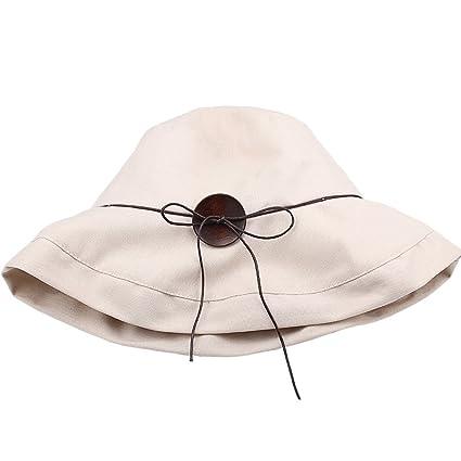 FURTALK Foldable Sun Hat For Women - Cotton Wide Brim Bonnie Bucket Summer  Caps Original at Amazon Women s Clothing store  68982cf75236