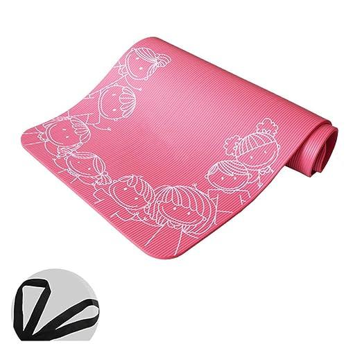 LXMBox Esterilla de Yoga Antideslizante Eco/Estera de ...
