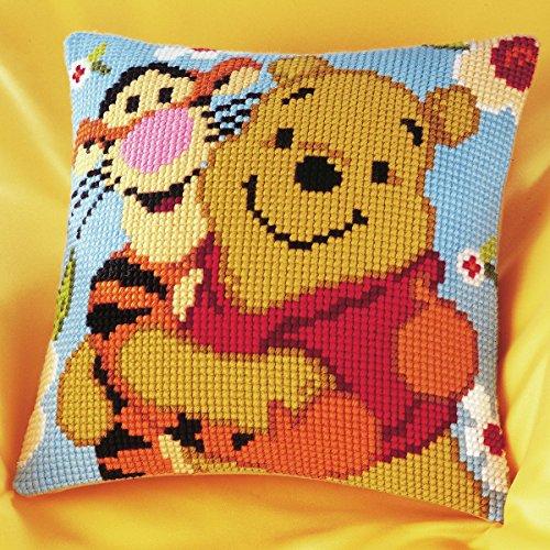 Disney's Winnie the Pooh and Tigger Cross Stitch Cushion Kit (Tigger Stitch Cross)