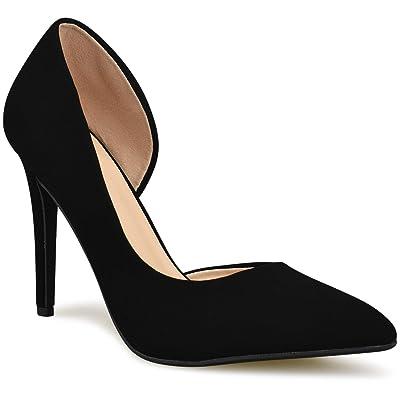 Premier Standard - Women's Heel Pump Shoes, TPS2020100001 Black NBPU Size 6   Pumps