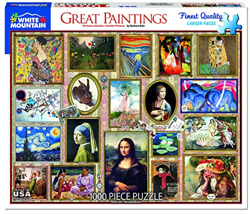 es Great Paintings - 1000 Piece Jigsaw Puzzle (Great Paintings)