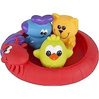 Playgro Mini-patos para el baño, 4 Piezas, Totalmente