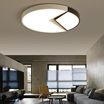 Dimmbar Schlafzimmerlampe Modern LED Deckenleuchte Innenbeleuchtung ...