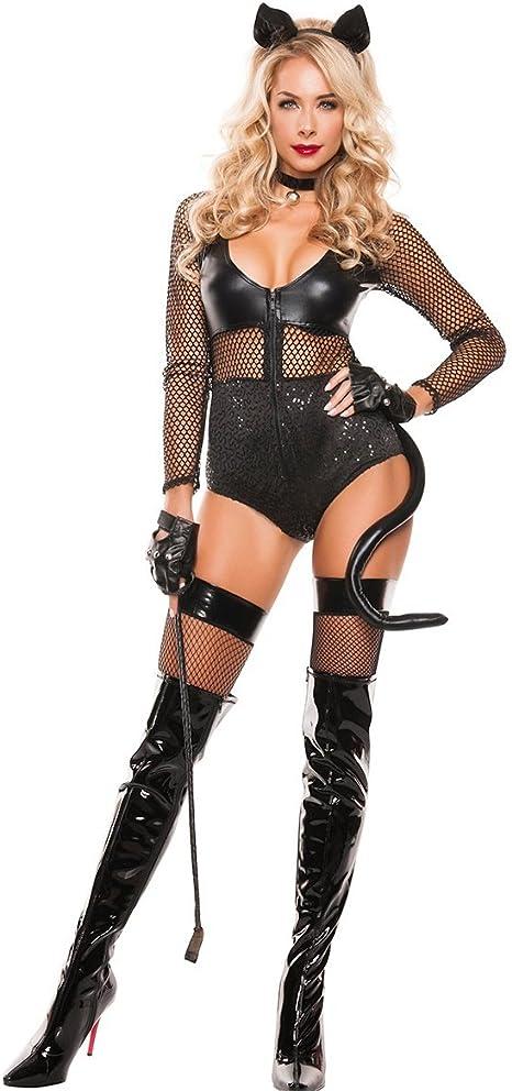 CHEN Bunny Carnaval erótico de Cuero Adulto Cosplay Disfraces ...
