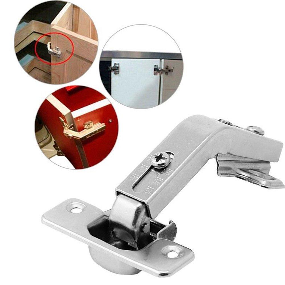 armario o armario con combinaci/ón plegable. Bisagras de puerta de 135 grados ajustables de montaje con cierre suave en esquina