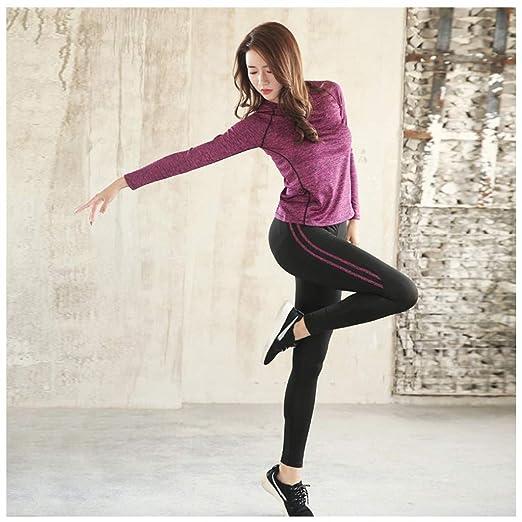 LGIZW Ropa De Yoga Traje De Mujer Conjunto De Yoga Chándales ...
