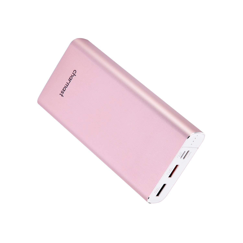 Charmast®【Power Delivery 20800mAh Powerbank Batería Externa para movil con QC 3.0 Rápida Recargado