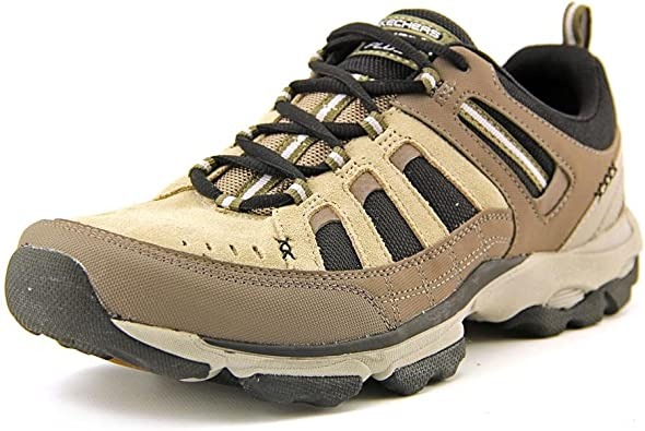 cartel Ánimo Acuario  Skechers Urban Voltaic Mens Brown Leather Sneakers Shoes Size UK 8:  Amazon.co.uk: Shoes & Bags