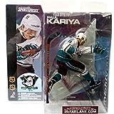 McFarlane Toys NHL Anaheim Mighty Ducks Sports Picks Series 1 Paul Kariya Action Figure [White Jerse