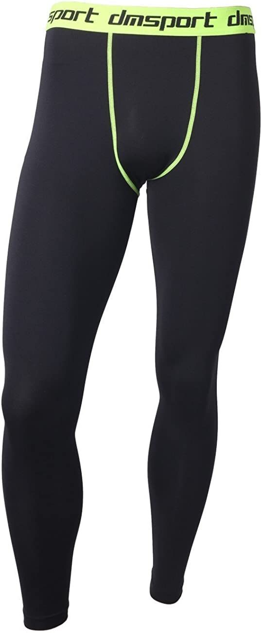 FITTOO Mens Sports Compression Fitness Pants Cool Dry Running Workout Tights Leggings