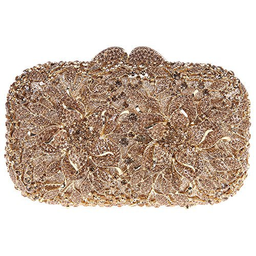 Girls Bags Evening Floral Smoky and Clutches Yellow for Bags Clutch for Prom Fawziya EqvRCwS4R
