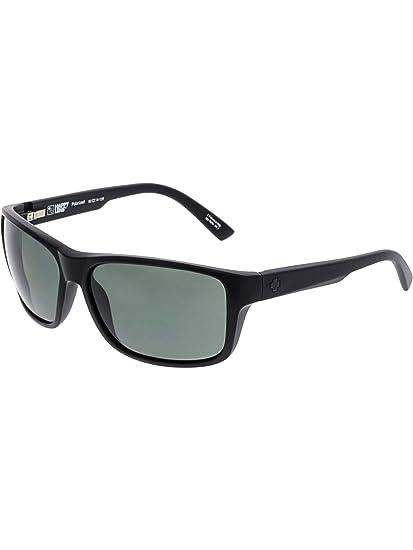 0c10e24ba1f Amazon.com  Spy Optic Unisex Arcylon Matte Black Happy Gray Green Polar One  Size  Spy  Clothing