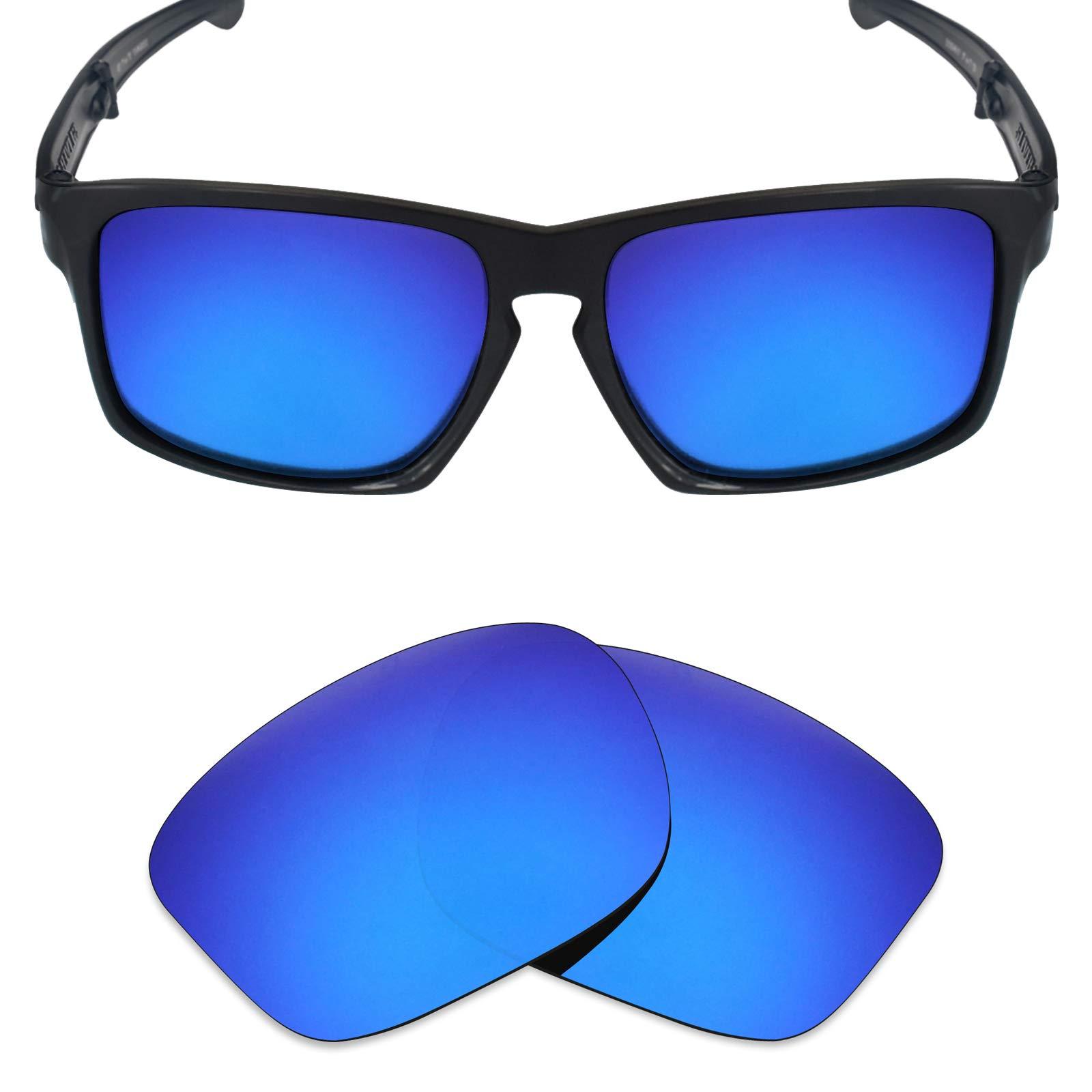 2cb576c40 Mryok Polarized Replacement Lenses for Oakley Sliver F Folding - Deep Blue