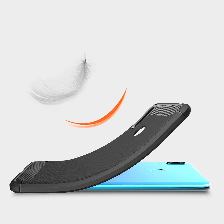 AROYI Funda Huawei Y7 Pro 2019, Cristal Templado, Carcasa Silicona ...