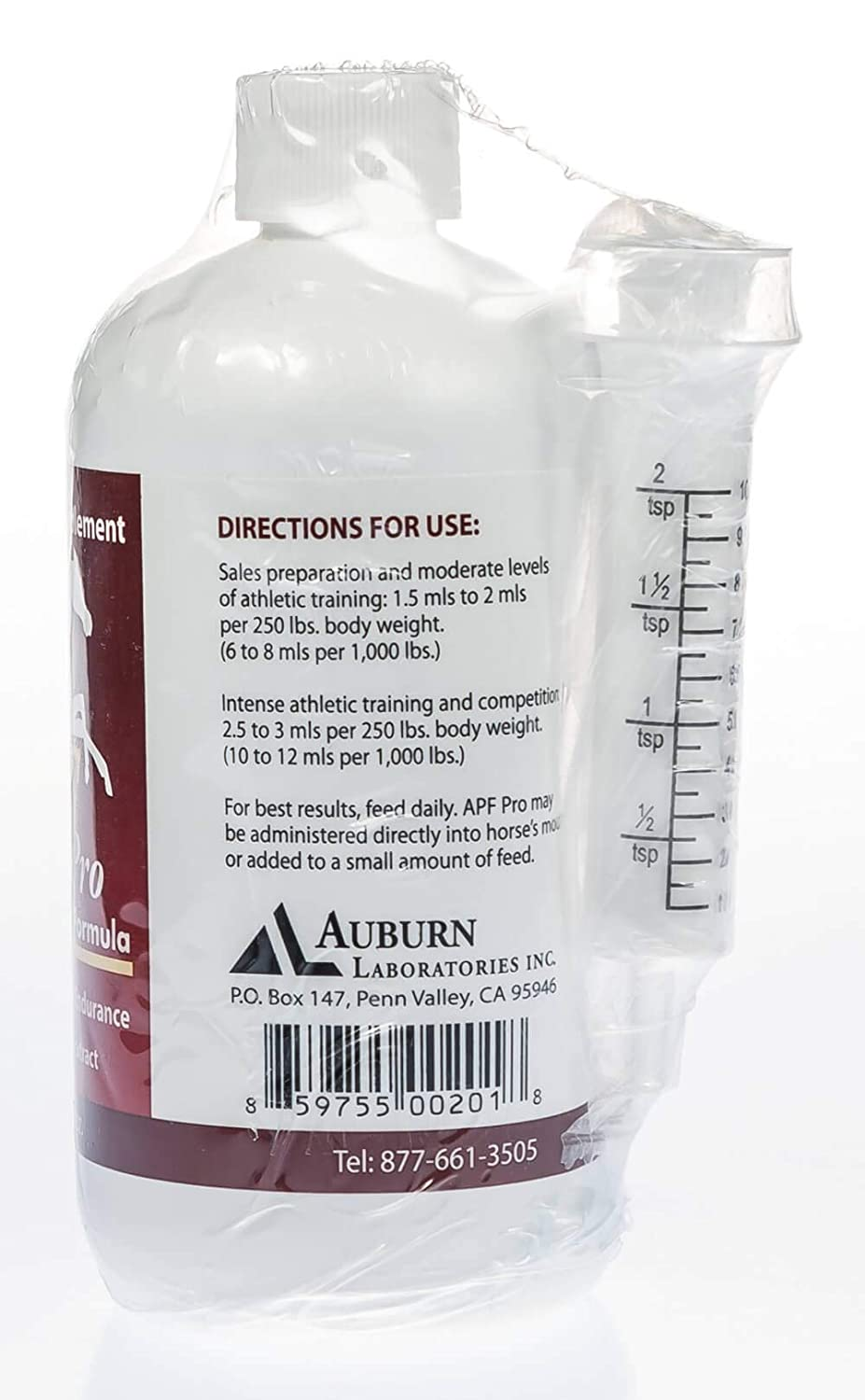 Auburn Laboratories Apf Pro Equine Animal Health & Veterinary 120 Ml Bottle
