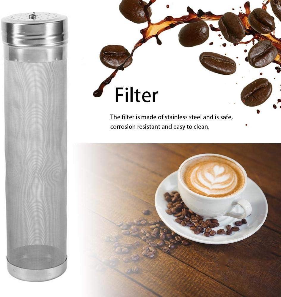 Bier Brauen Filter Biersieb Filter 300 Micron selbst gemachter Hopfen Masche Filter Sieb mit Haken Kessel Gebr/äu Edelstahl Hausgemachtes Brauen Home Coffee Hopper Home Brew