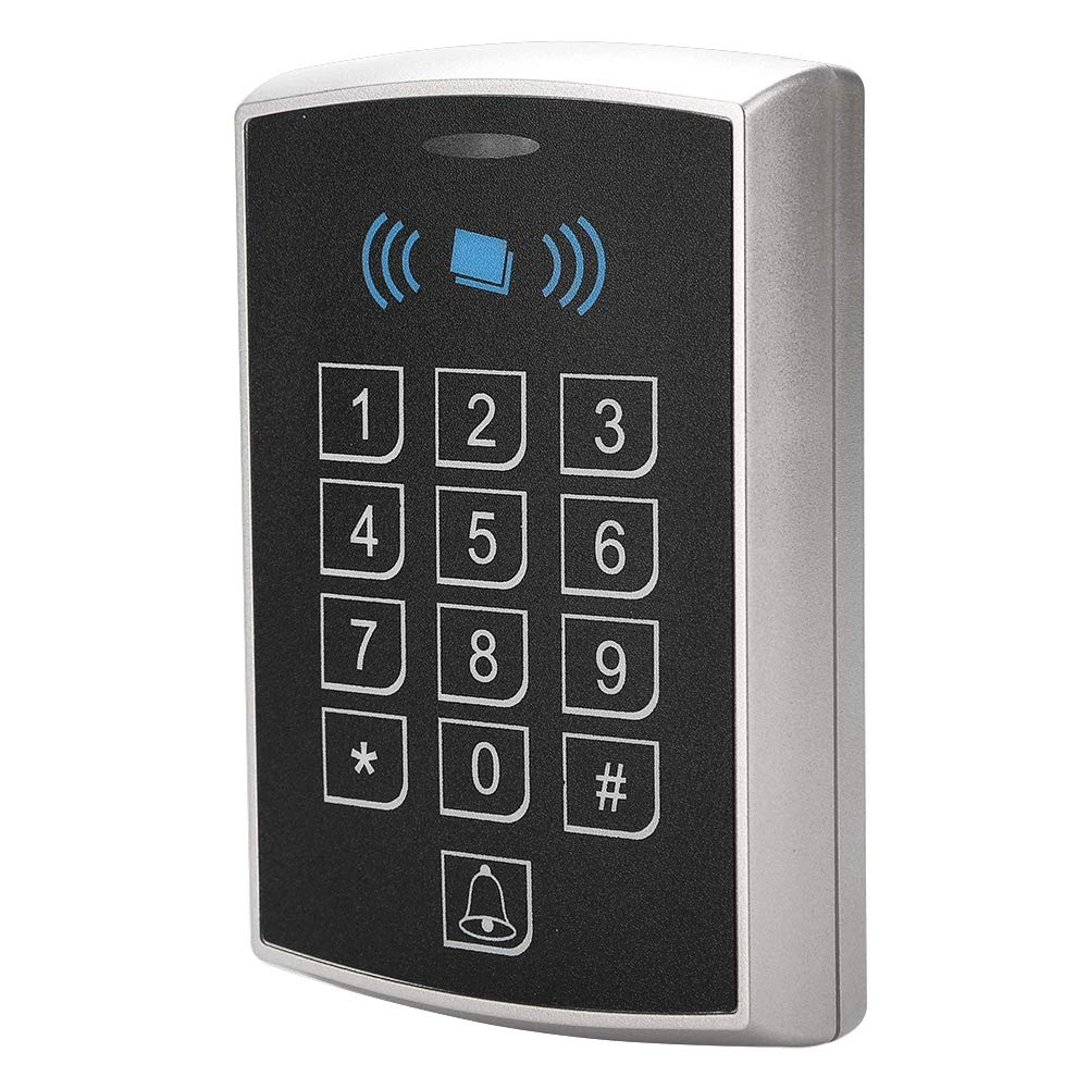 Teclado de control de acceso aut/ónomo,RFID Control de Acceso Independiente Con Digital Teclado Teclas Para Hogar Apartamento Sistema de Seguro de F/ábrica