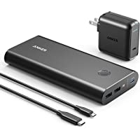 Anker PowerCore+ 26800 PD with 30W Power Delivery Charger, Portable Charger Bundle for MacBook Air / iPad Pro 2018, iPhone XS Max / X / 8, Nexus 5X / 6P, and USB Type-C Laptops with Power Delivery
