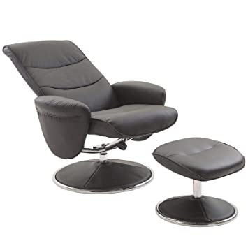 Cool Amazon Com Black 2Pcs Modern Swivel Recliner Glider Creativecarmelina Interior Chair Design Creativecarmelinacom