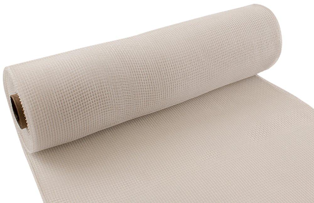 25/cm x 9,1/m Blanco Eleganza n/º 01/Deco de Malla