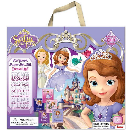 Disney Princess Storybook Paper Doll Kit: Sofia The First