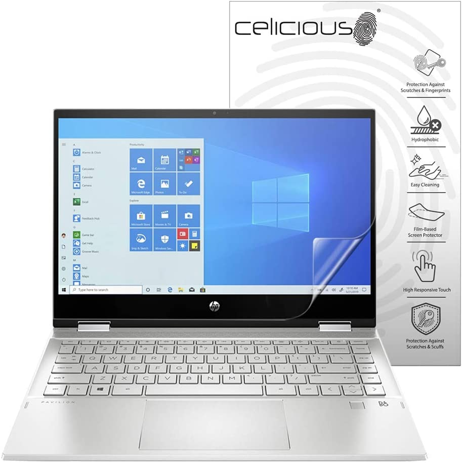 S108NA Celicious Privacy 2-Way Anti-Spy Filter Screen Protector Film Compatible with HP Pavilion x360 13