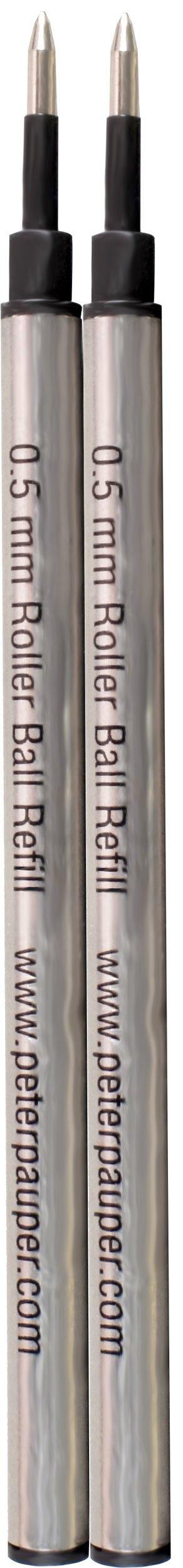 Roller Ball Pen Refill (2-Pack) (Rollerball Pen) (Designer Pens) by Peter Pauper Press (Image #3)