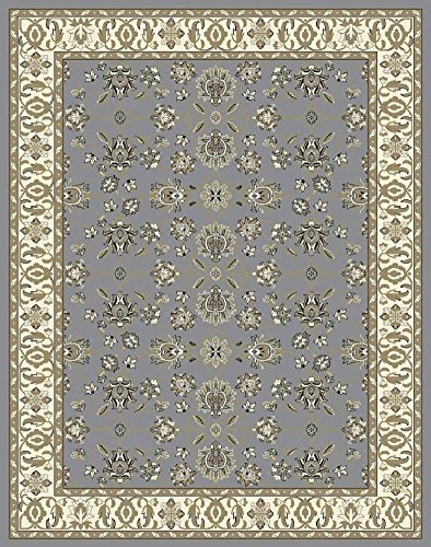 Large Rugs for Living Room Gray Traditional Clearance Area Rugs 8×10 Under 100 Prime Rugs