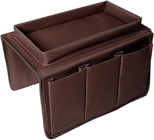 Sofá Apoyabrazos Organizador con bandeja, AOLVO sofá silla mesa ...